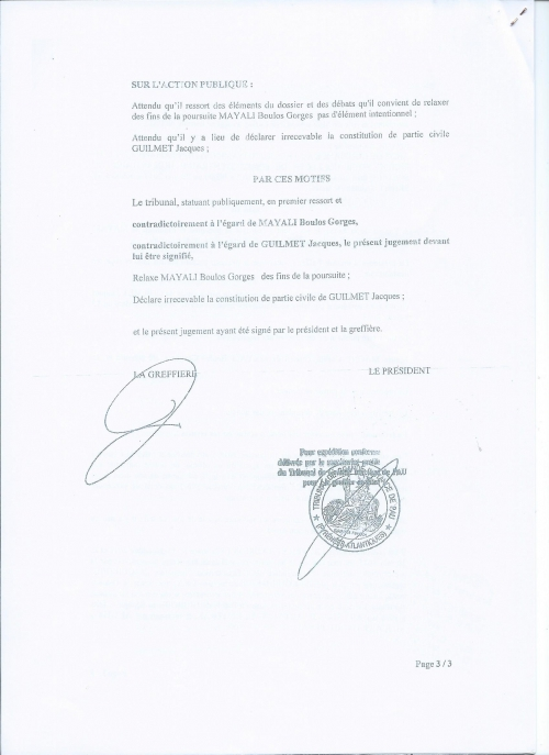 P3 Jugement Correctionnel Pau 13 janvier 2014.jpg