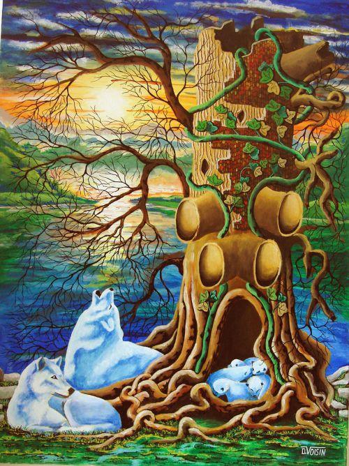L' arbre aux loups
