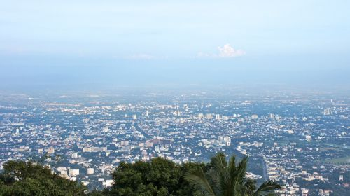 Vue panoramique de Chiang Mai