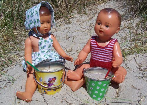 Michel et Françoise à la plage