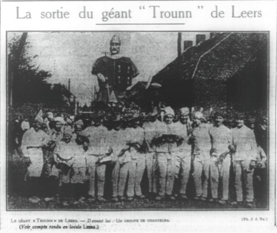 Trounn de Leers Journal de Roubaix du 29 08 1932.png