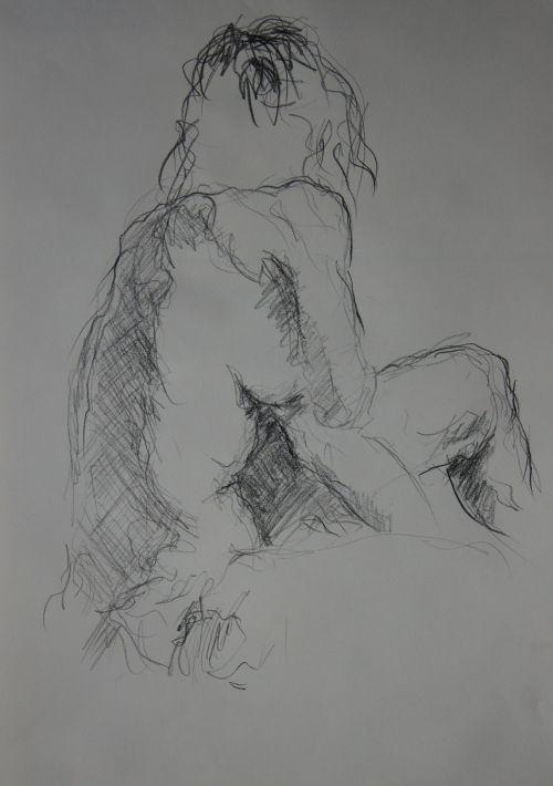 119 / Pierre noire Fusain