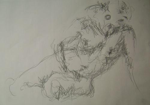 36 / Crayon 30X42