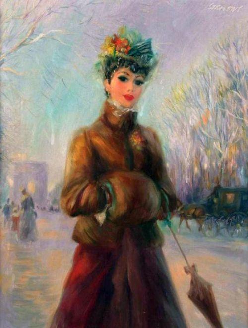 John Lloyd Strevens 1902-1990. British Edwardian Era painter