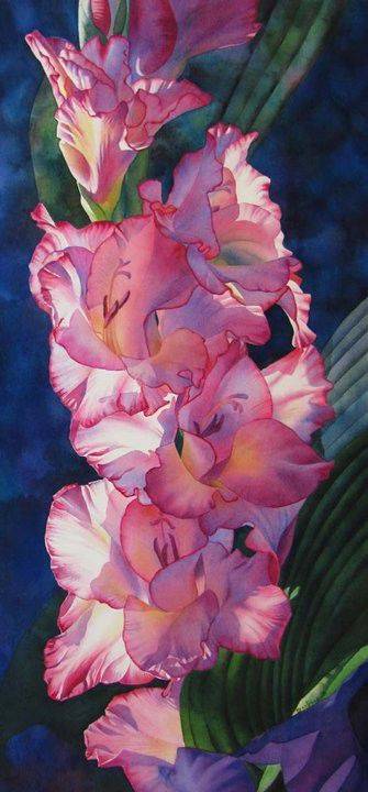 Barbara Fox. American watercolor painter
