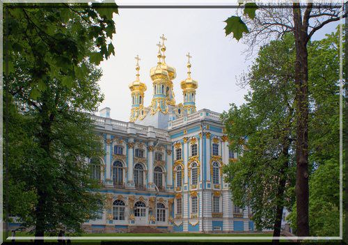 Catherine Palace, Pushkin, Russie