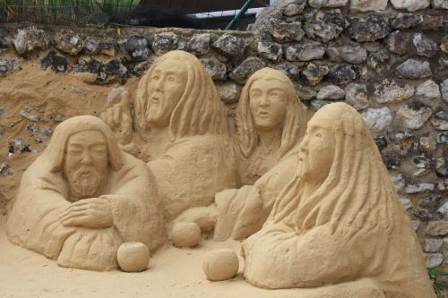 Sculpteur à Giverny