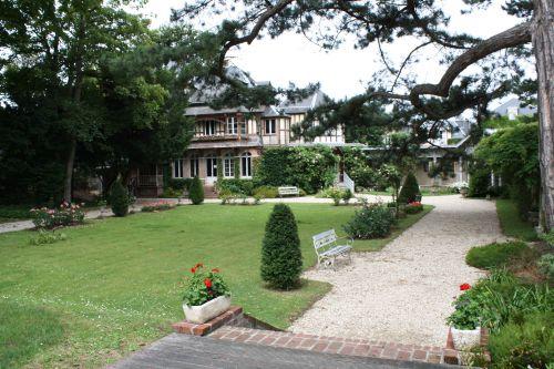 La maison de Maurice Leblanc, créateur du célèbre personnage d'Arsène Lupin, le gentleman-cambrioleur.