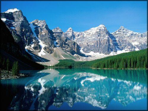 « Valley of Ten Peaks », Etats-Unis