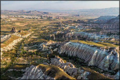 L'ancienne région de l'Anatolie, Cappadoce, Turquie