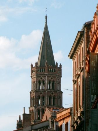 Clocher de la Basilique Saint Sernin