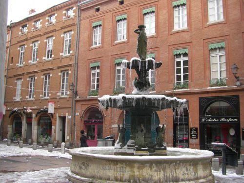 La fontaine de la place Salengro
