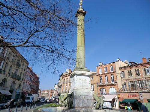 La fontaine de la place Dupuy