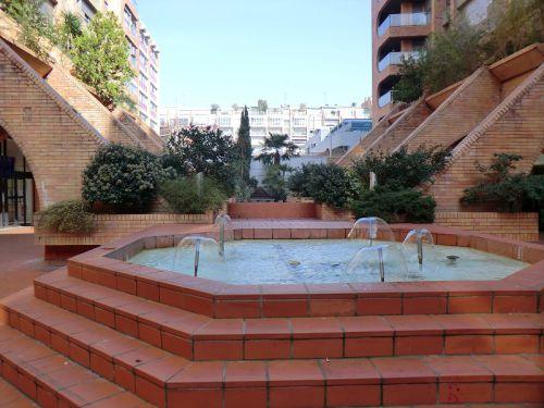 La fontaine de la promenade des Capitouls
