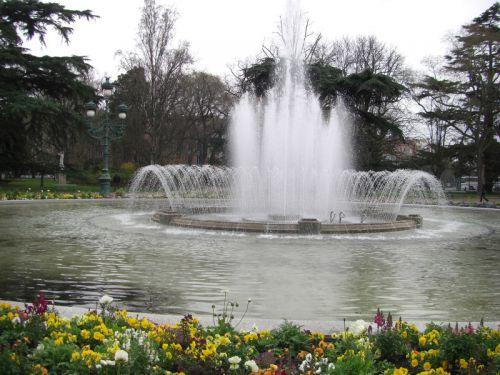 La fontaine du Grand-Rond