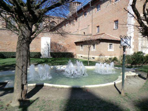 La fontaine du square Privat