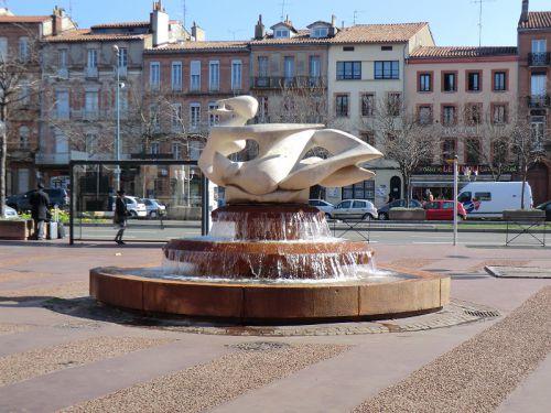 La fontaine Evasion des allées Jean-Jaurès