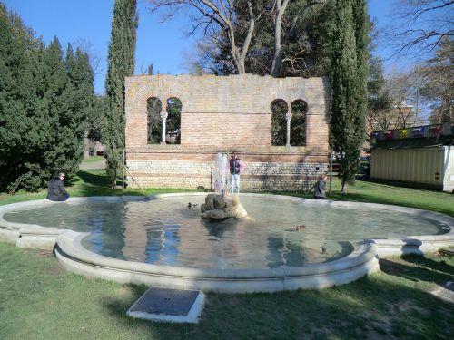 La fontaine du Jardin des Plantes