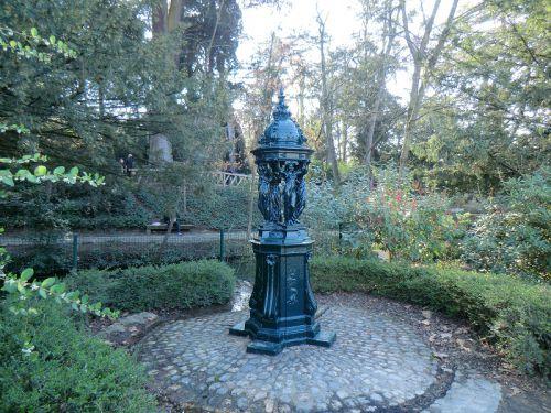 Fontaine Wallace du Jardin des Plantes