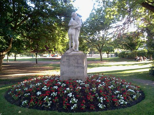 Les statues du jardin des Plantes