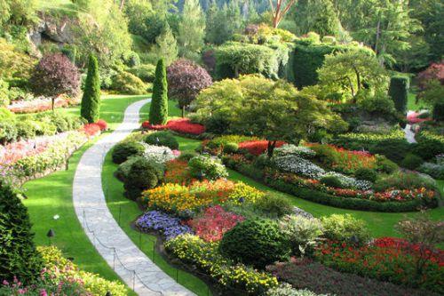 Les Butchart Gardens au Canada
