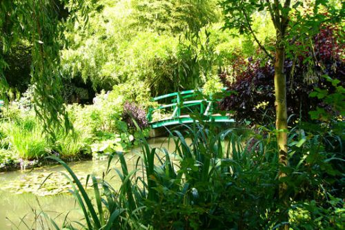 Les jardins de Monet à Giverny en France