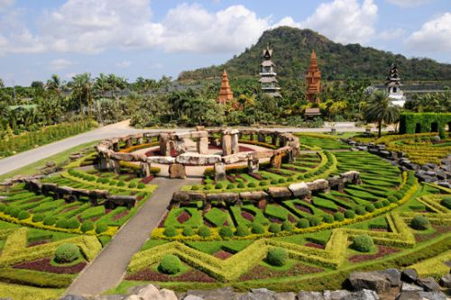 Le parc Nong Nooch en Thaïlande