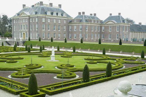 Le parc du palais de Het Loo aux Pays-Bas