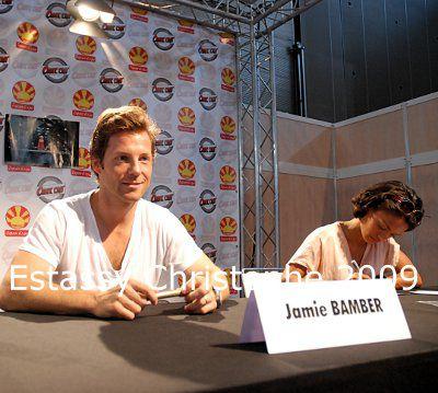 Jamie Bamber et Kandyse McClure