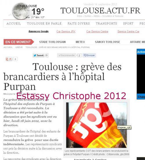Publication sur le site de Toulouse.Actu.fr
