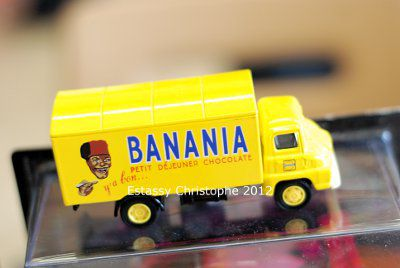 Camion miniature de la firme Banania
