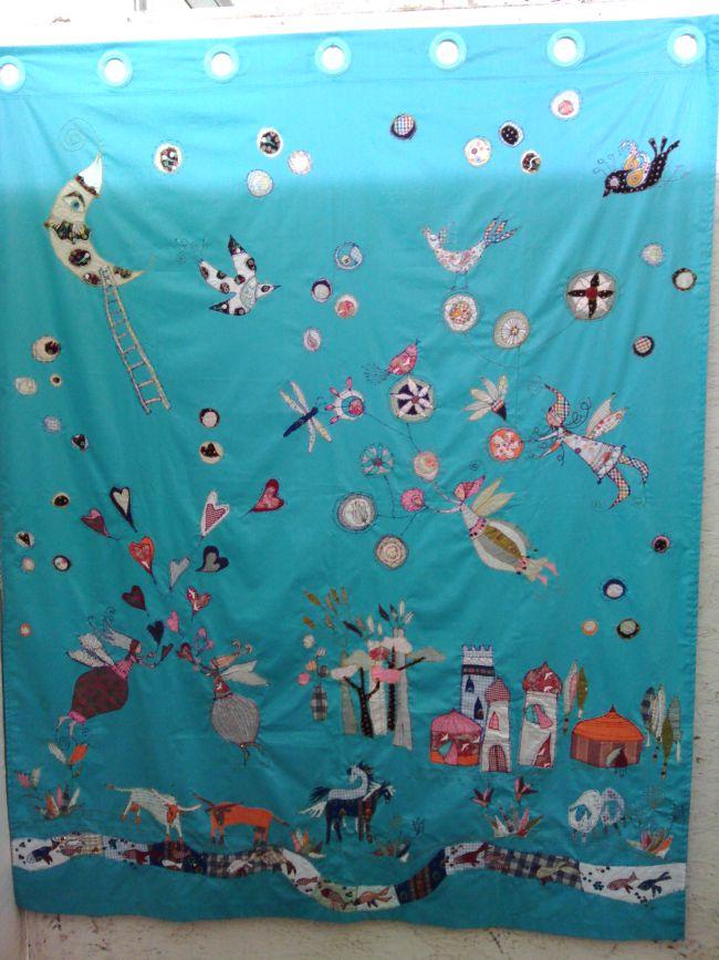créa rideau chambre d'enfant