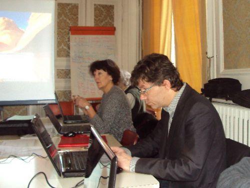 Atelier micro : Arnaud concentré ! janvier 2014