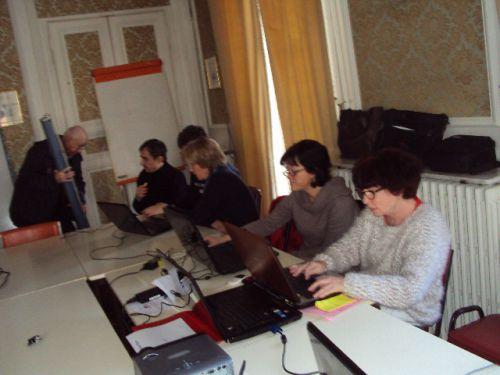 Atelier micro informatique : mars 2014