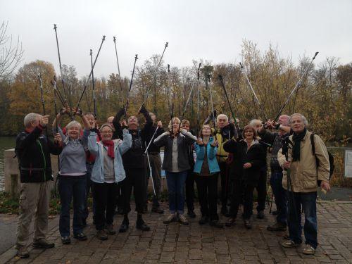 Marche nordique novembre 2014