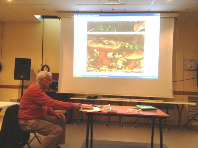 Conférence champignons oct. 2015