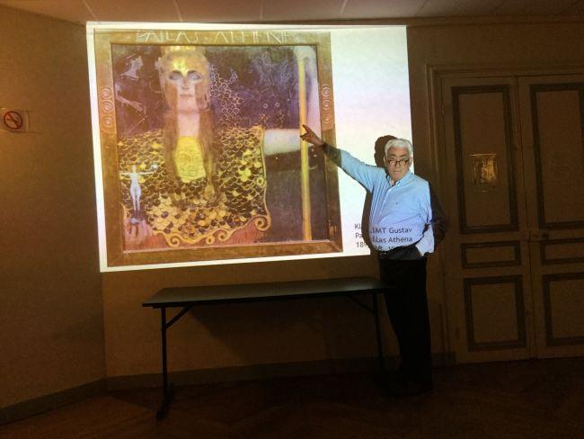 Mythologie oct 2016 : Athéna peinte par Klimt