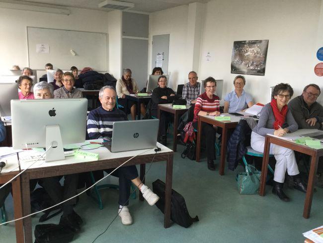 Club d'entraide informatique : 1ère séance 02/2017