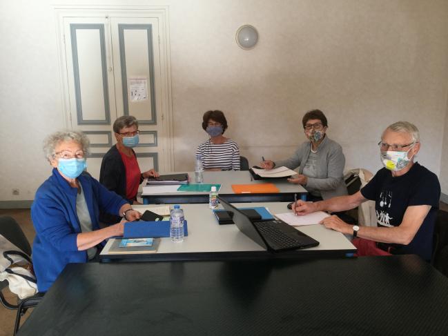 CA : préparation des mesures sanitaires COVID