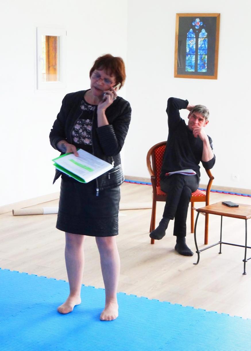 Week-end de répétition à Pagney dans le Jura - Avril 2018