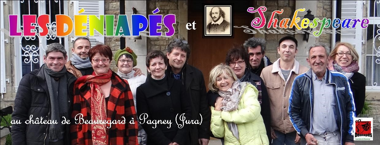Quand les Déniapés rencontrent Shakespeare au château de Pagney (Jura)