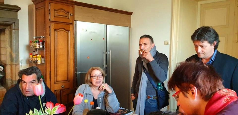 Pause-Café - Week-end à Pagney - Mai 2019 - Photo : Nicolas Bourgeois