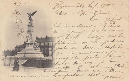 Dijon Place de la République en 1900