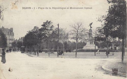 Dijon Place de la République en 1908