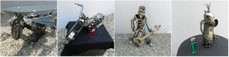 L'art de la recup du metal by eric
