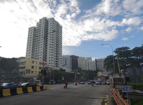 urbanisation de Penang