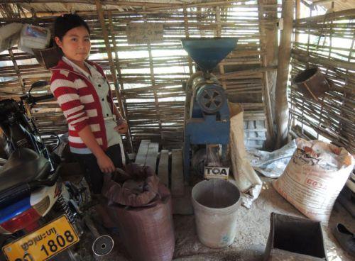 décorticage du riz