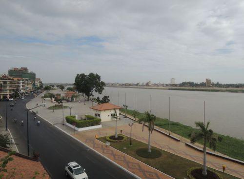 Mekong à Phnom Penh