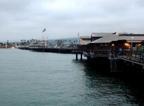 Santa Barbara, la jetée en bois..