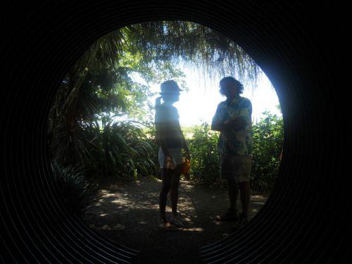 le bout du tunnel de Cornerstone